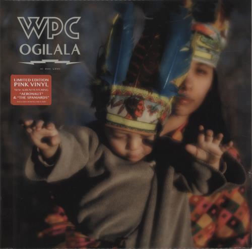 Billy Corgan Ogilala - Pink Vinyl + Sealed vinyl LP album (LP record) UK BGNLPOG683728