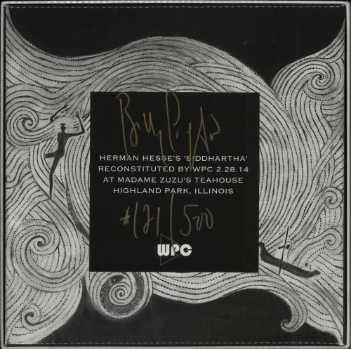 Billy Corgan Siddartha - Autographed Vinyl Box Set US BGNVXSI754516