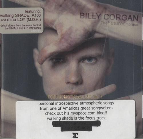 Billy Corgan TheFutureEmbrace CD album (CDLP) US BGNCDTH472139