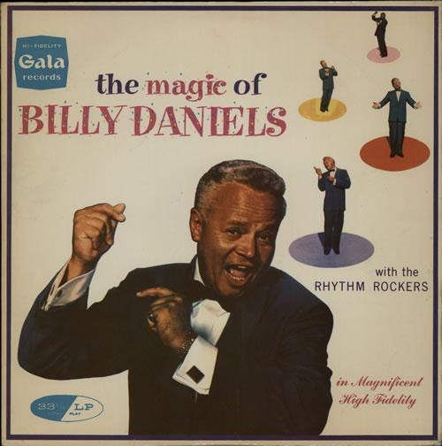 Billy Daniels The Magic Of Billy Daniels vinyl LP album (LP record) UK B89LPTH580113