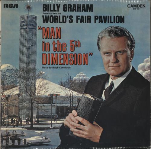 Billy Graham Man In The 5th Dimension vinyl LP album (LP record) UK ZXNLPMA721117