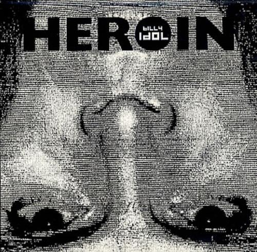 "Billy Idol Heroin CD single (CD5 / 5"") US IDOC5HE132298"