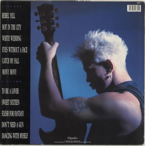 Billy Idol Idol Songs - Stickered Sleeve vinyl LP album (LP record) UK IDOLPID458406