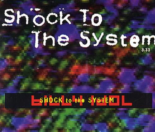 "Billy Idol Shock To The System CD single (CD5 / 5"") Dutch IDOC5SH172328"