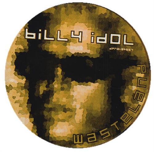 "Billy Idol Wasteland CD single (CD5 / 5"") US IDOC5WA72719"