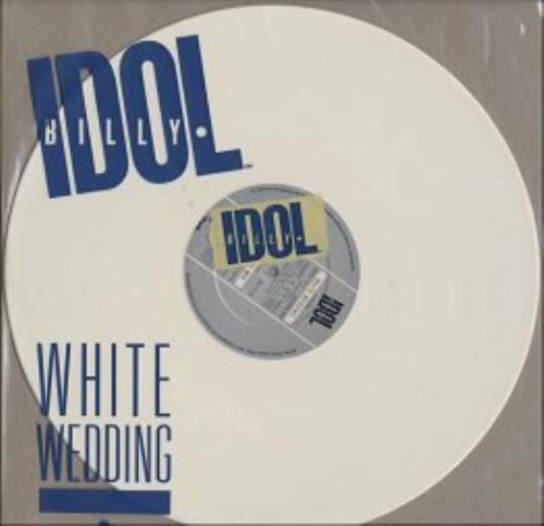 Billy Idol White Wedding White Vinyl Uk 12 Vinyl Single 12