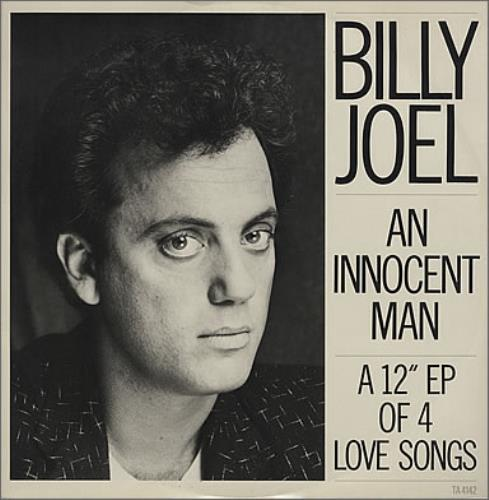 "Billy Joel An Innocent Man 12"" vinyl single (12 inch record / Maxi-single) UK BLY12AN229096"