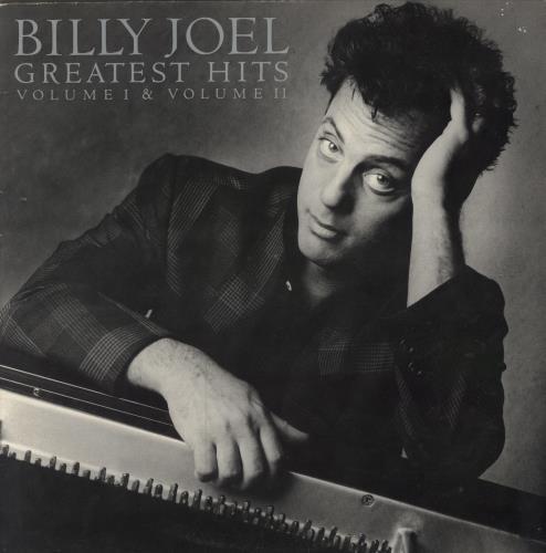 Billy Joel Greatest Hits Volume I & Volume II - EX 2-LP vinyl record set (Double Album) UK BLY2LGR755671