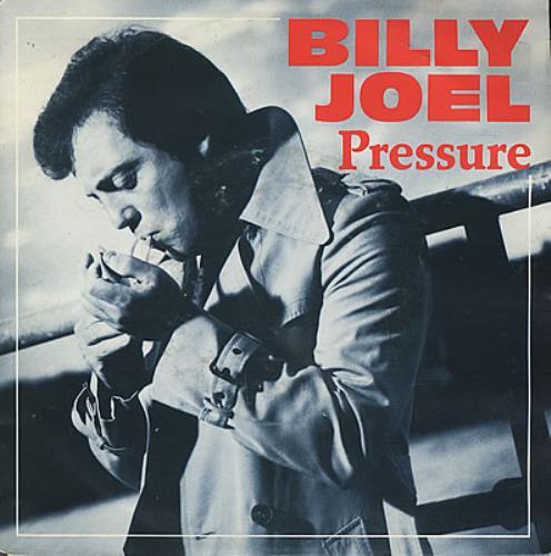 "Billy Joel Pressure 7"" vinyl single (7 inch record) Dutch BLY07PR377844"