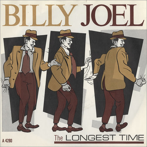 "Billy Joel The Longest Time 7"" vinyl single (7 inch record) UK BLY07TH379690"