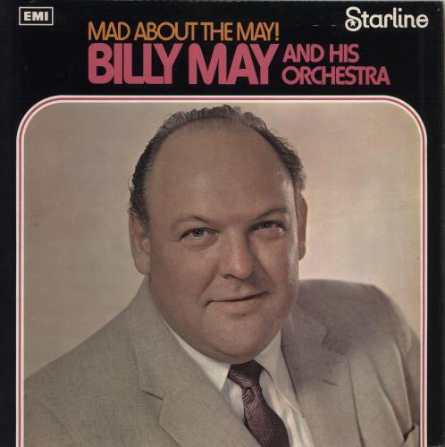 Billy May Mad About The May Uk Vinyl Lp Album Lp Record
