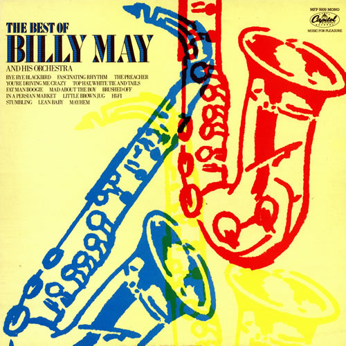 Billy May The Best Of Billy May vinyl LP album (LP record) UK BM7LPTH470854
