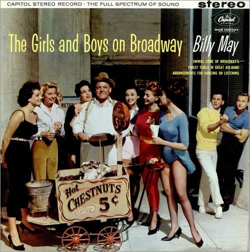 Billy May The Girls And Boys On Broadway vinyl LP album (LP record) UK BM7LPTH476744
