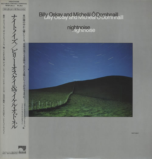 Billy Oskay & Micheal O Domhnaill Nightnoise vinyl LP album (LP record) Japanese C7VLPNI554640