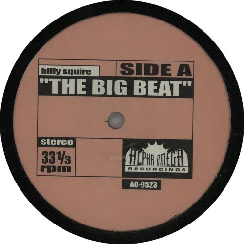 Billy Squier The Big Beat US 12