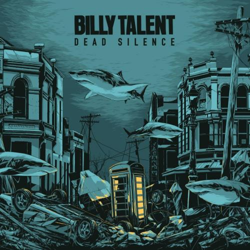 Billy Talent Dead Silence - Crystal Water Coloured Vinyl + Ken Taylor Print 2-LP vinyl record set (Double Album) UK B562LDE768166