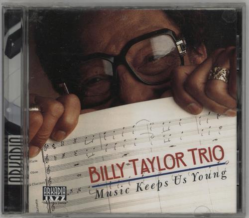 Billy Taylor Music Keeps Us Young CD album (CDLP) US BT1CDMU751217