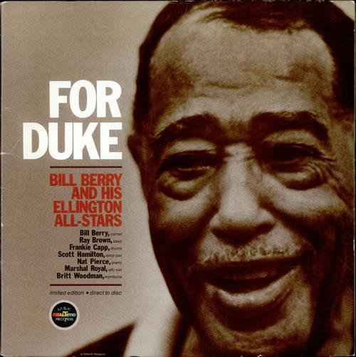 Bill Berry For Duke - shrink vinyl LP album (LP record) German BV0LPFO528508