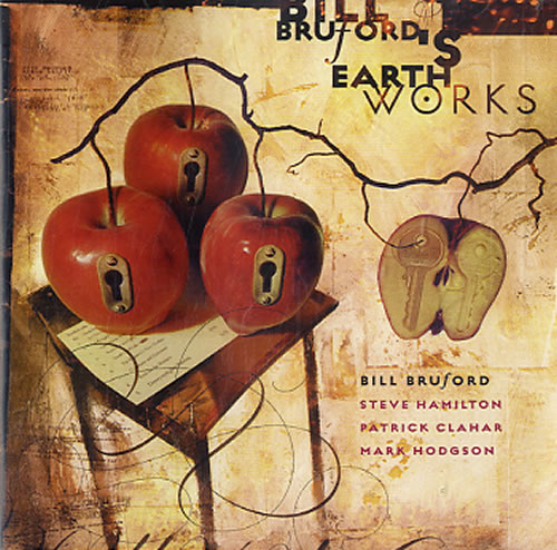 Bill Bruford A Part, And Yet Apart CD album (CDLP) UK BFOCDAP624409