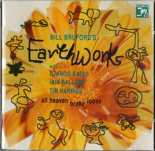Bill Bruford All Heaven Broke Loose CD album (CDLP) UK BFOCDAL624405
