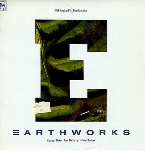 Bill Bruford Bill Bruford S Earthworks Us Vinyl Lp Album