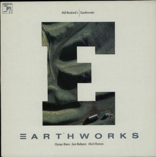Bill Bruford Bill Bruford's Earthworks vinyl LP album (LP record) French BFOLPBI623393
