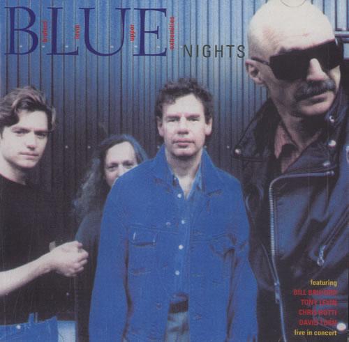 Bill Bruford Blue Nights 2 CD album set (Double CD) UK BFO2CBL519435