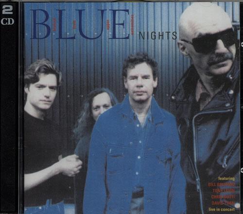 Bill Bruford Blue Nights 2 CD album set (Double CD) UK BFO2CBL624794