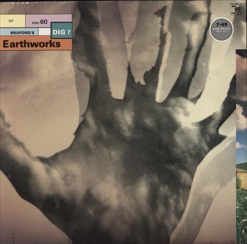 Bill Bruford Dig? vinyl LP album (LP record) UK BFOLPDI546868