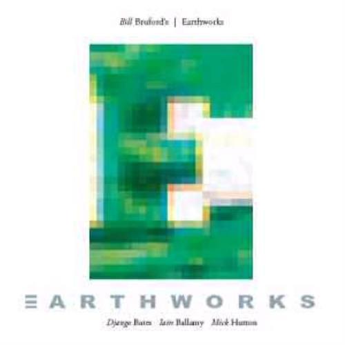 Bill Bruford Earthworks 2 CD album set (Double CD) UK BFO2CEA317896