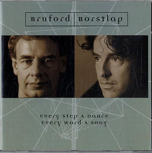 "Bill Bruford Every Step A Dance, Every Word A Song CD single (CD5 / 5"") UK BFOC5EV624554"