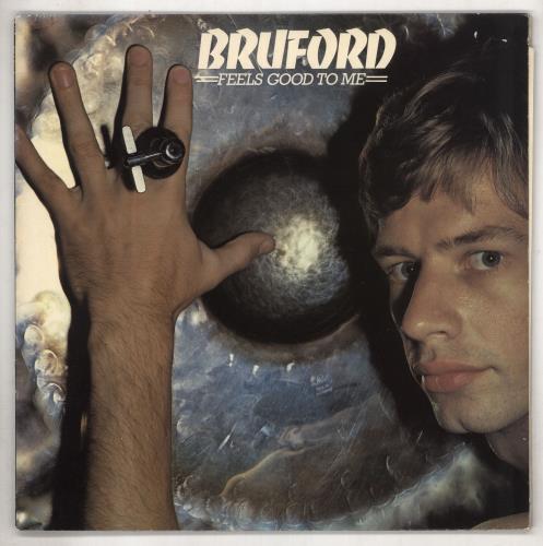 Bill Bruford Feels Good To Me - EX vinyl LP album (LP record) UK BFOLPFE573582