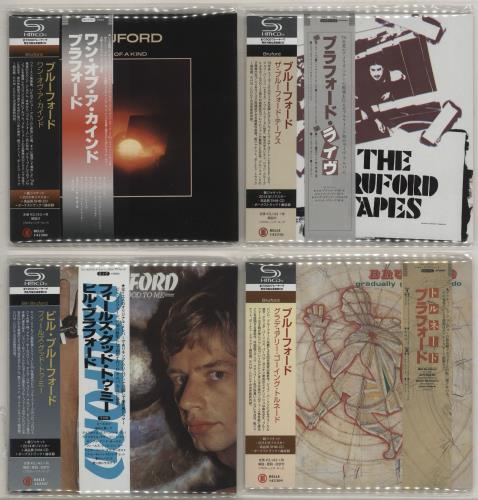 Bill Bruford Feels Good To Me - Paper Sleeve Collection Vinyl Box Set Japanese BFOVXFE755556