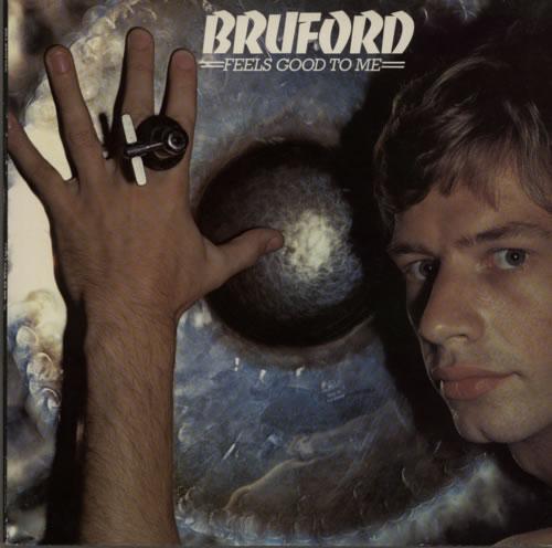 Bill Bruford Feels Good To Me vinyl LP album (LP record) UK BFOLPFE251789