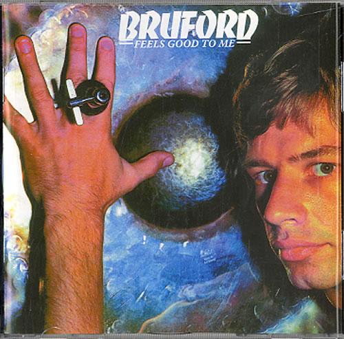 Bill Bruford Feels Good To Me CD album (CDLP) UK BFOCDFE317901