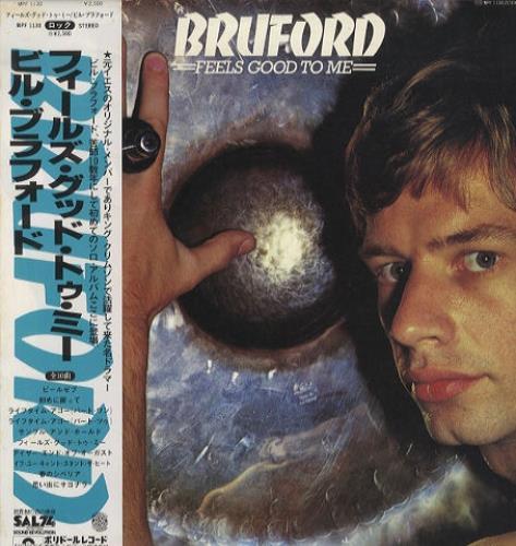 Bill Bruford Feels Good To Me vinyl LP album (LP record) Japanese BFOLPFE441899