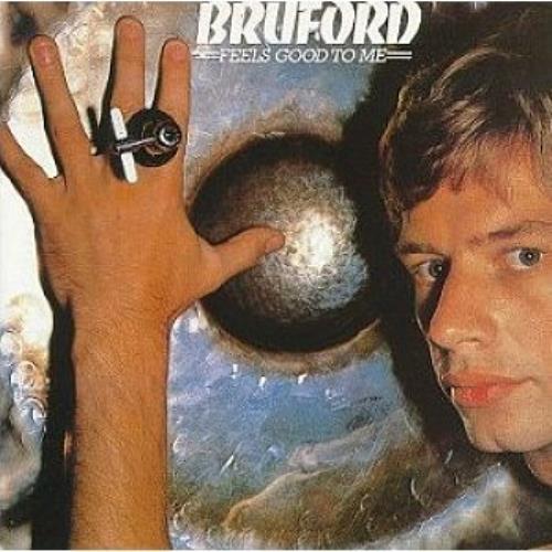 Bill Bruford Feels Good To Me vinyl LP album (LP record) UK BFOLPFE488760
