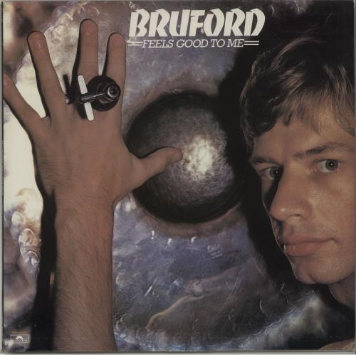 Bill Bruford Feels Good To Me vinyl LP album (LP record) US BFOLPFE620250
