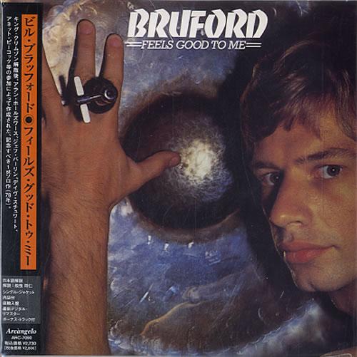 Bill Bruford Feels Good To Me CD album (CDLP) Japanese BFOCDFE620324