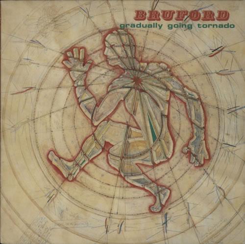 Bill Bruford Gradually Going Tornado vinyl LP album (LP record) UK BFOLPGR604217