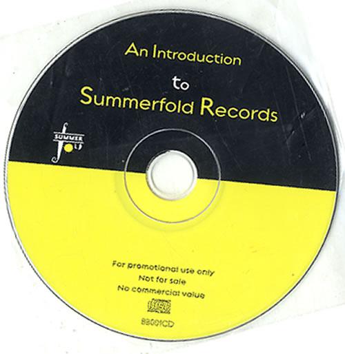 Bill Bruford Introduction To Summerfold CD album (CDLP) UK BFOCDIN342192