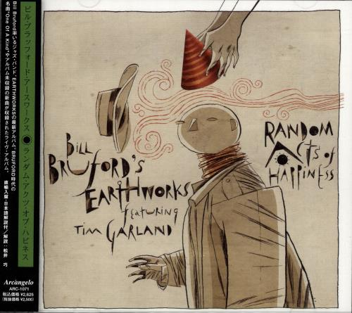 Bill Bruford Random Acts Of Happiness CD album (CDLP) Japanese BFOCDRA691429