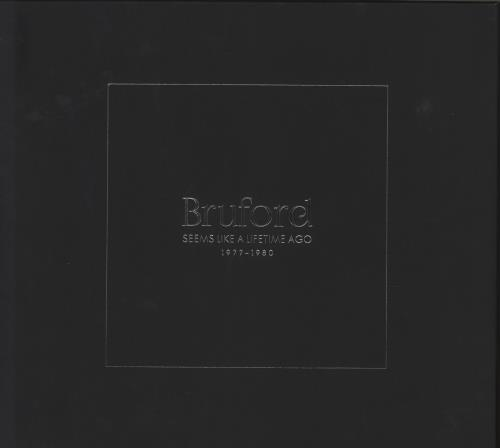 Bill Bruford Seems Like A Lifetime Ago  - Signed & Numbered CD Album Box Set UK BFODXSE749544