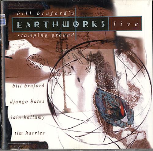 Bill Bruford Stamping Ground CD album (CDLP) UK BFOCDST624408