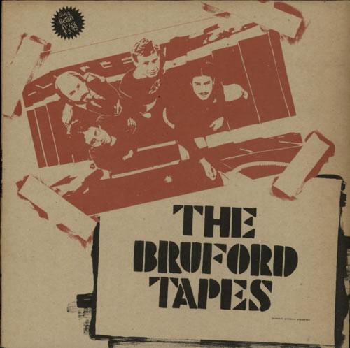 Bill Bruford The Bruford Tapes vinyl LP album (LP record) Canadian BFOLPTH589262