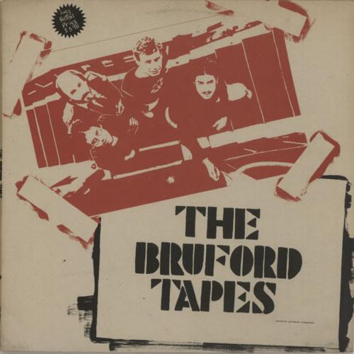 Bill Bruford The Bruford Tapes vinyl LP album (LP record) Canadian BFOLPTH622178
