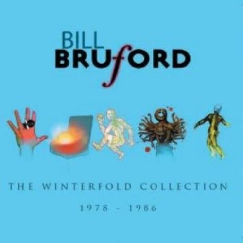 Bill Bruford The Winterfold Collection: 1978-1986 CD album (CDLP) UK BFOCDTH461156