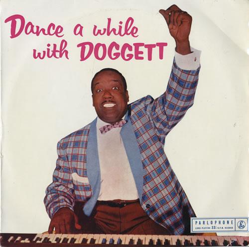 "Bill Doggett Dance Awhile With Doggett 10"" vinyl single (10"" record) UK BTJ10DA551733"
