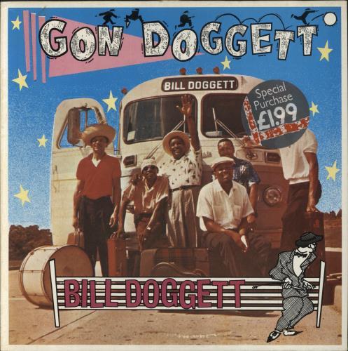 Bill Doggett Gon' Doggett vinyl LP album (LP record) UK BTJLPGO682446