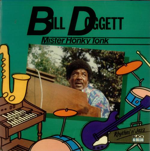 Bill Doggett Mister Honky Tonk vinyl LP album (LP record) French BTJLPMI547163